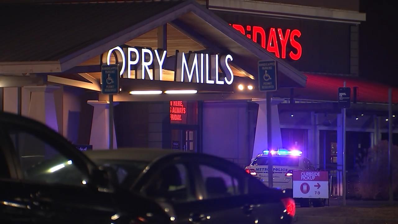 Opry Mills Mall shooting 011221
