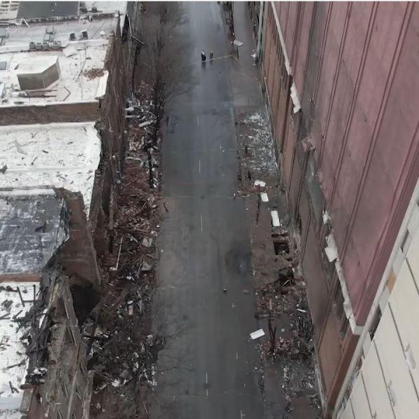 Nashville bombing drone