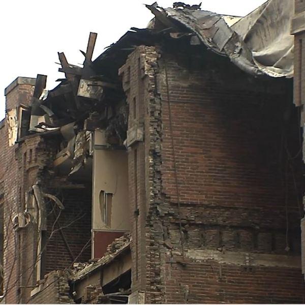 Nashville bombing bricks