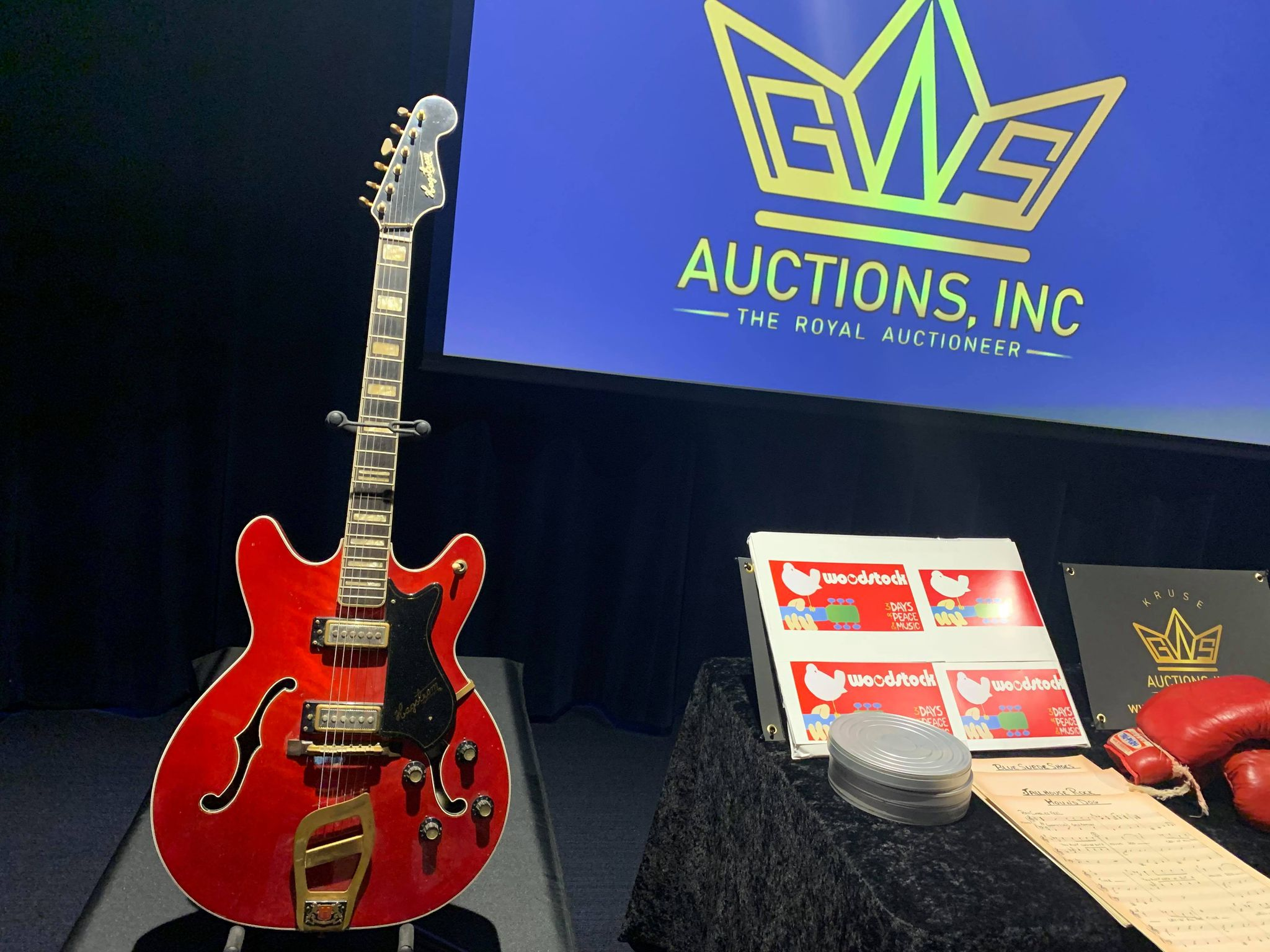 Kruse GWS AuctionsKruse GWS Auctions: Elvis Presley Comeback TV Special guitar