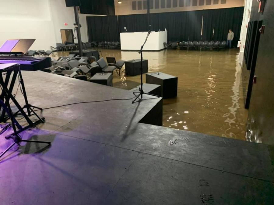 New Tribe Church damage