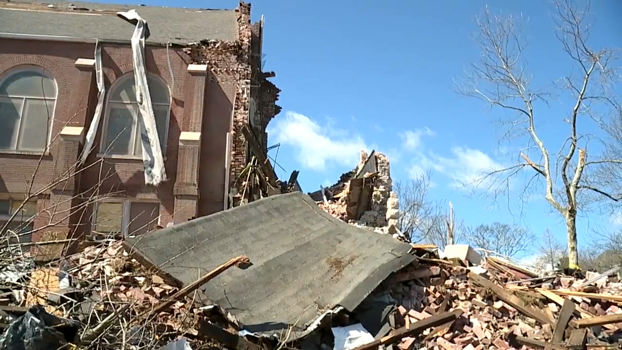 St. John's Lutheran Church Damage