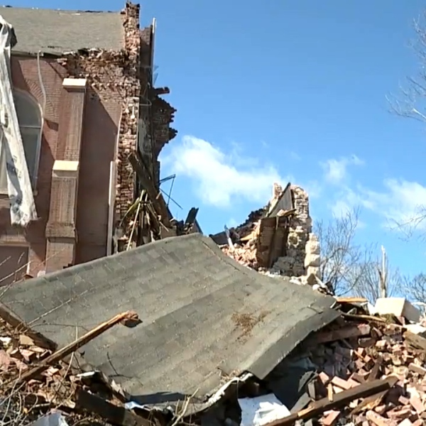 St. John's Lutheran Church Damage