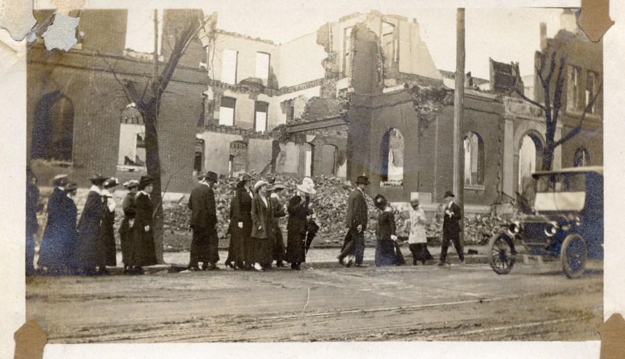 The Great East Nashville Fire of 1916 Courtesy Nashville Public Library