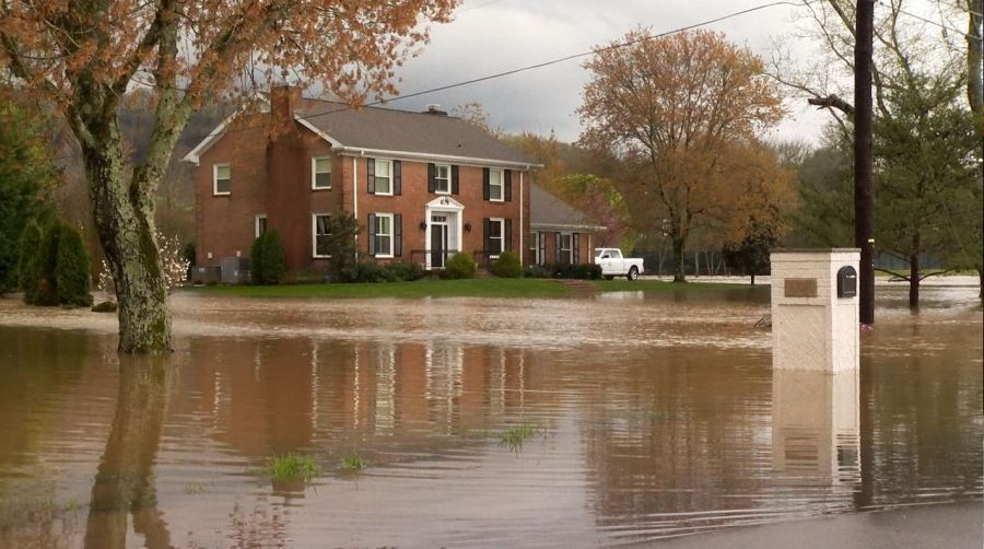Harpeth River flooding