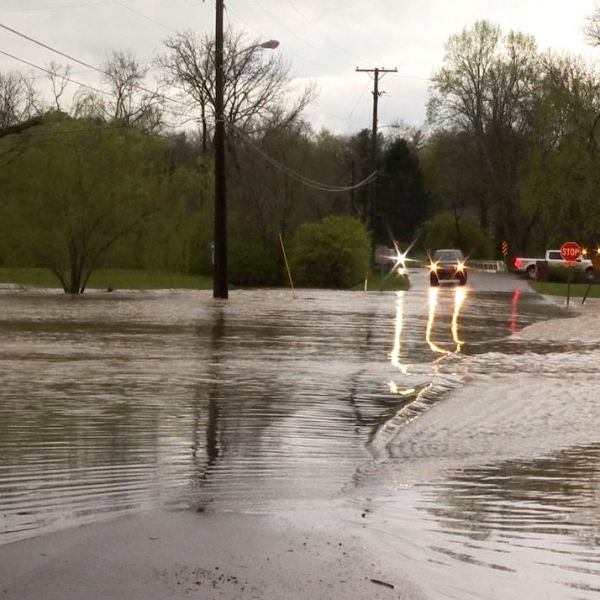 Harpeth River flooding