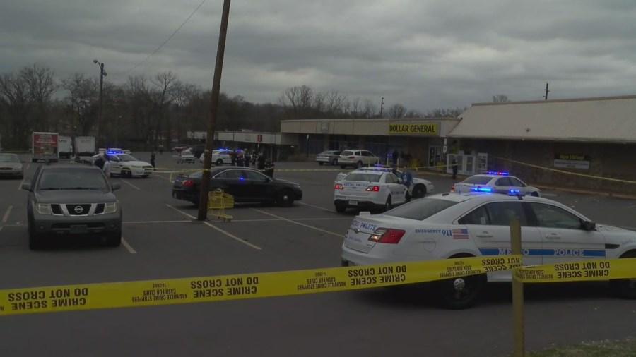 Metro officer shot Brick Church Pike