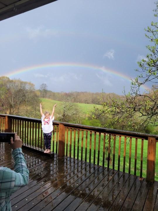 Lawrenceburg rainbow
