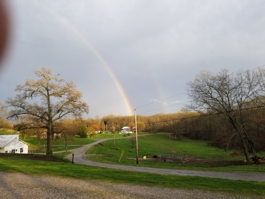 Allons, Tennessee rainbow