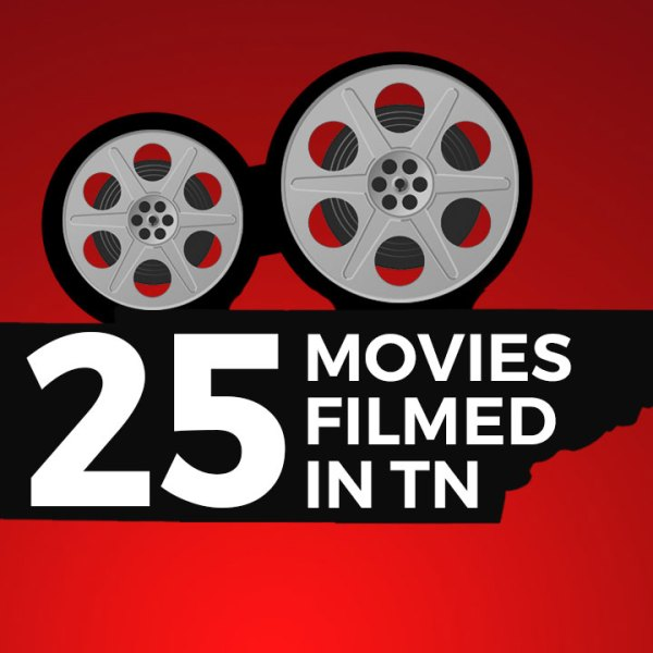 25 movies filmed in Tennessee