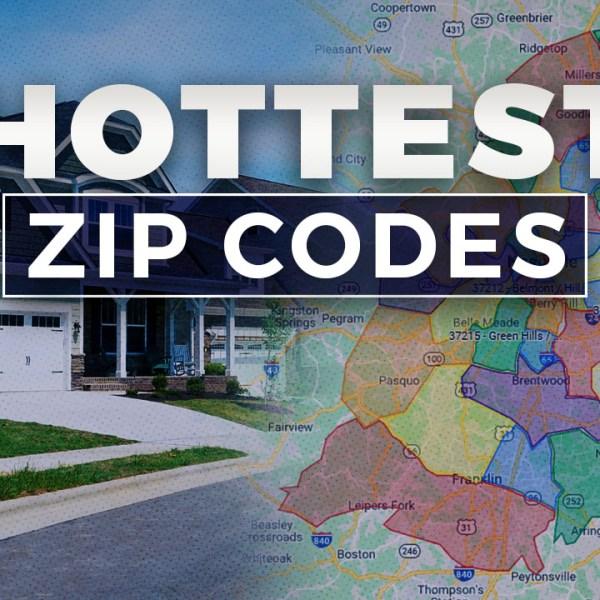 Hottest Zip Codes