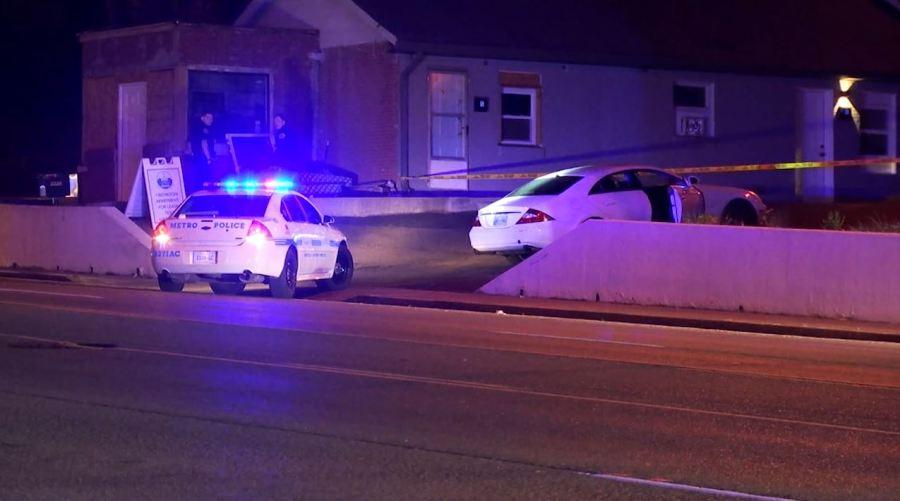 Clarksville Pike officer shooting