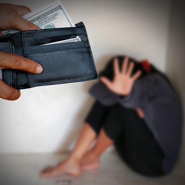 human trafficking business