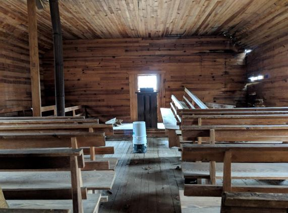 Laurel Springs Primitive Baptist Church in Cocke County