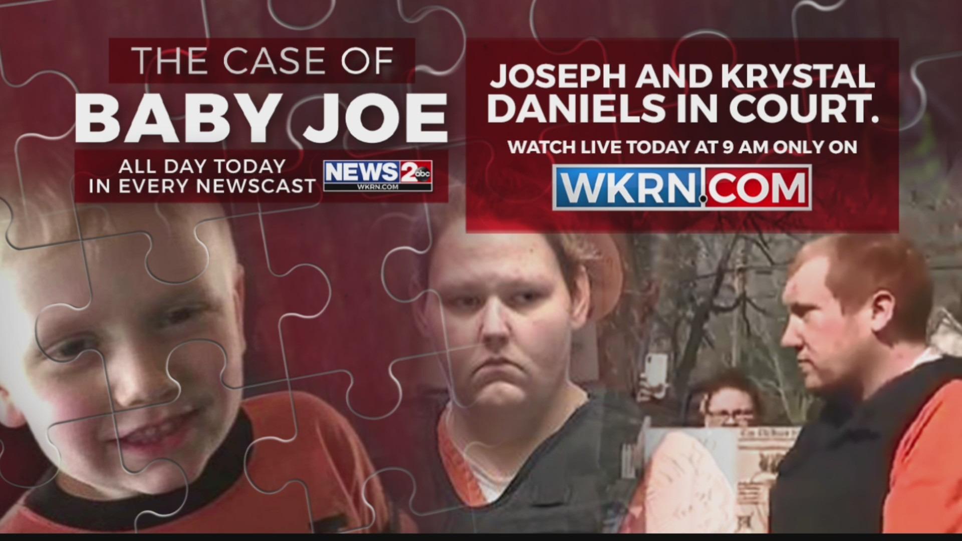 Baby Joe parents in court
