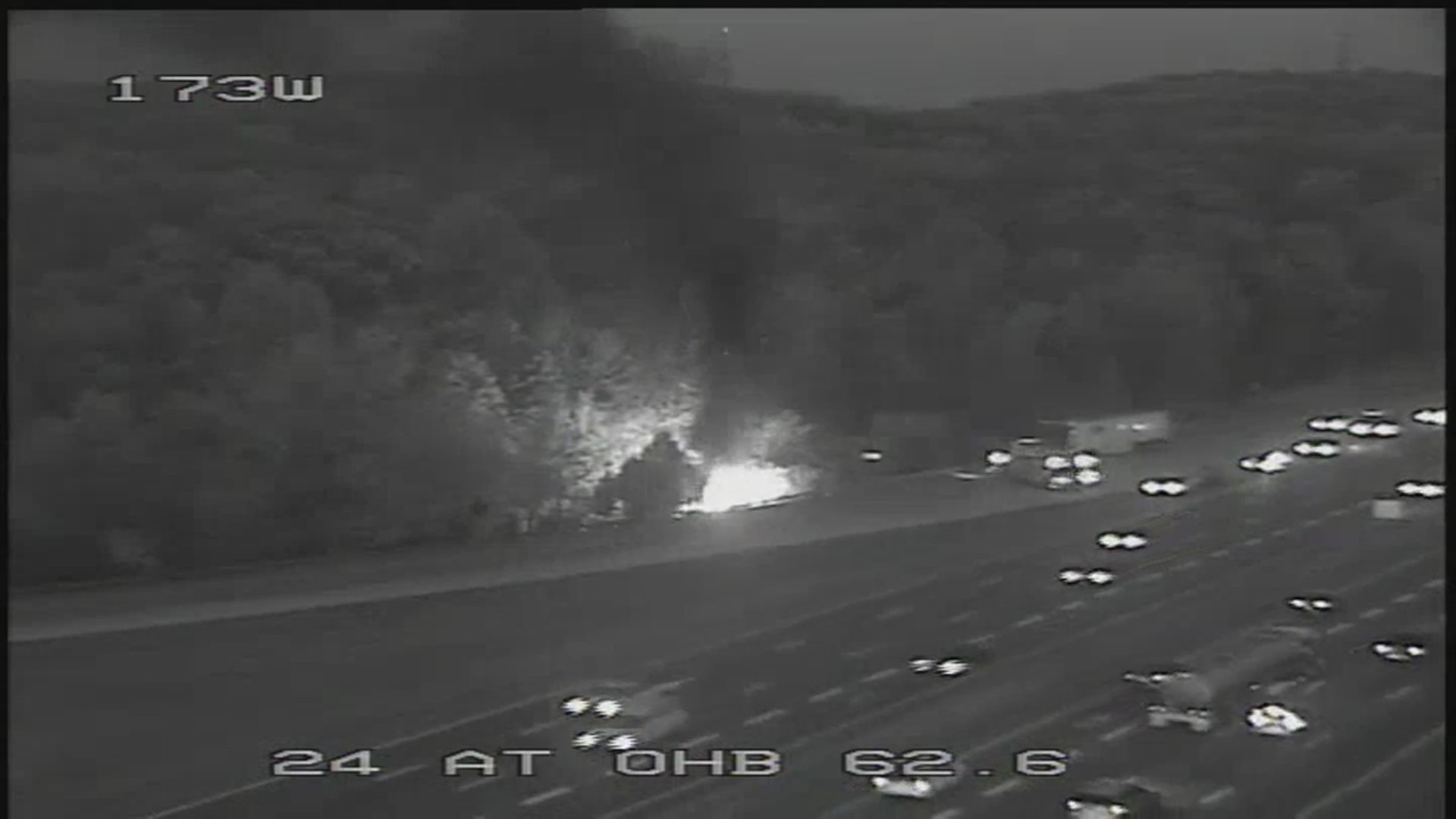 I-24 fiery crash