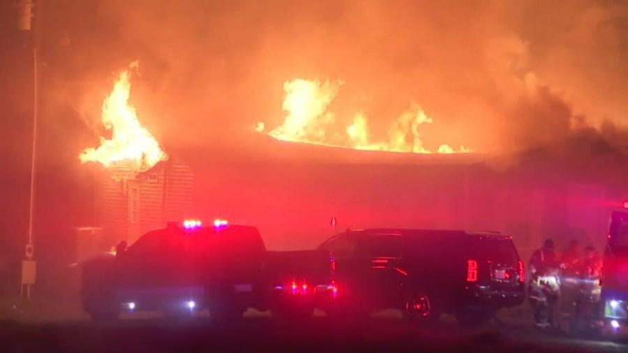 Cheatham County fire
