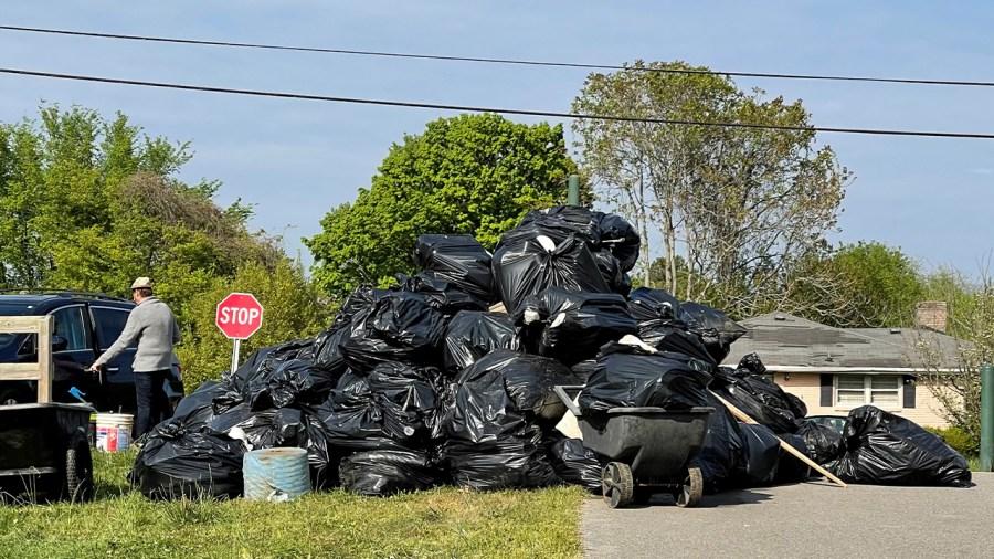 Whitsett Park Trash Cleanup