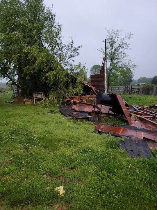 Cross Plains storm damage 050421