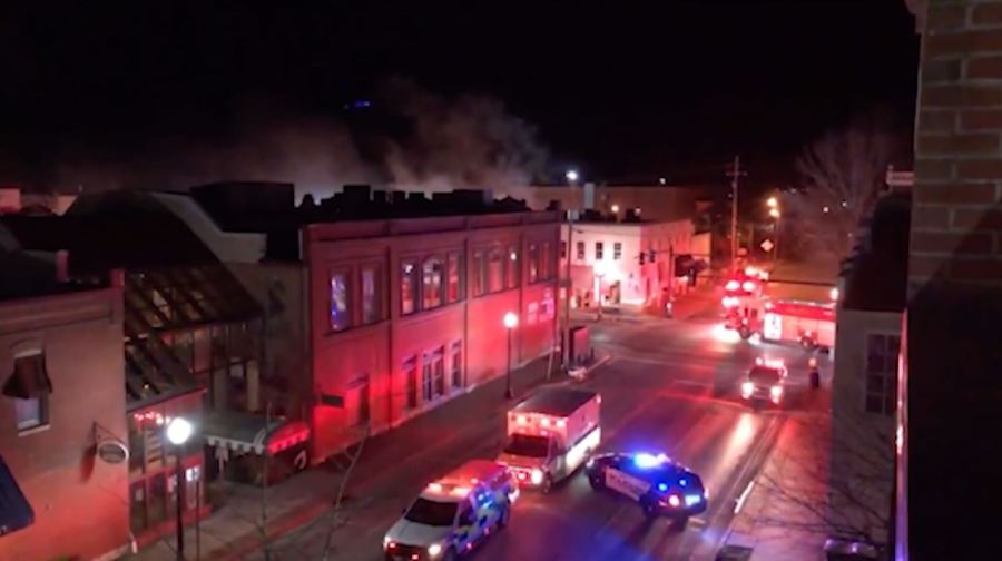 Red Pony Restaurant fire