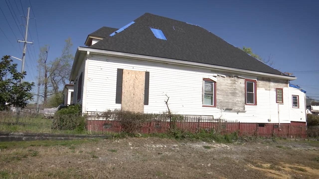 Tornado Damage East Nashville