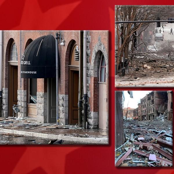 Nashville Bombing Damage