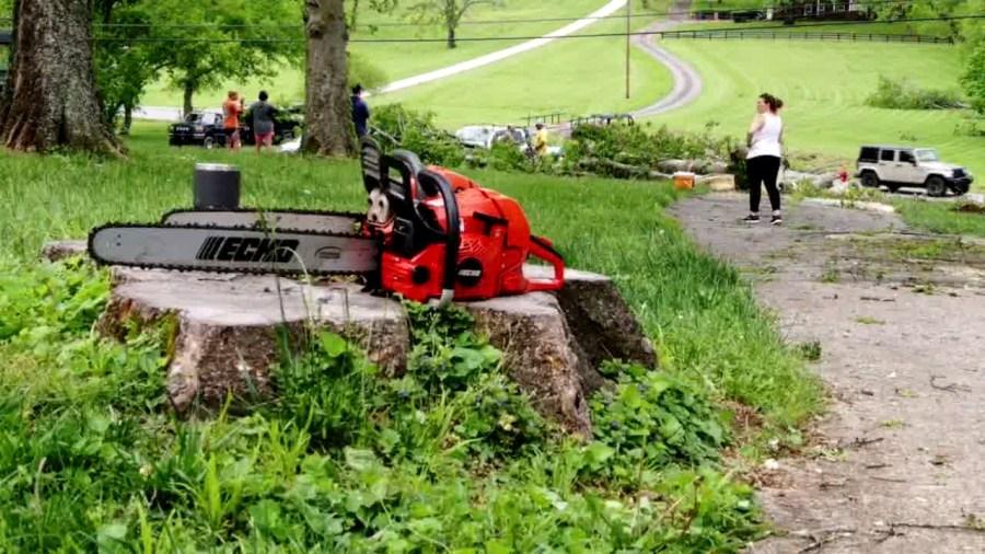 Drone 2 Goodlettsville Damage