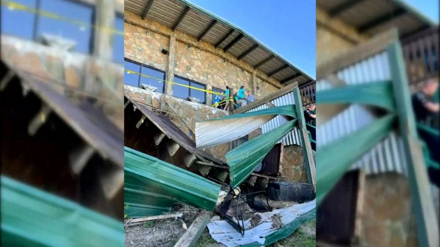 Soddy Daisy deck collapse