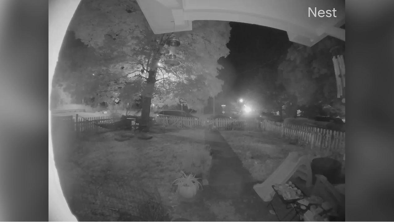 Camera captures another eruption of gunfire in East Nashville neighborhood