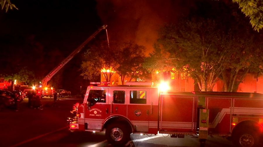 Brentwood Oaks Apartments fire