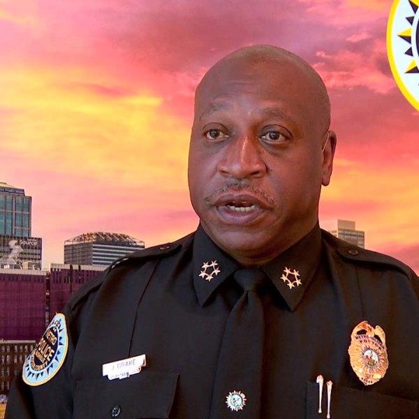 Metro Police Chief John Drake