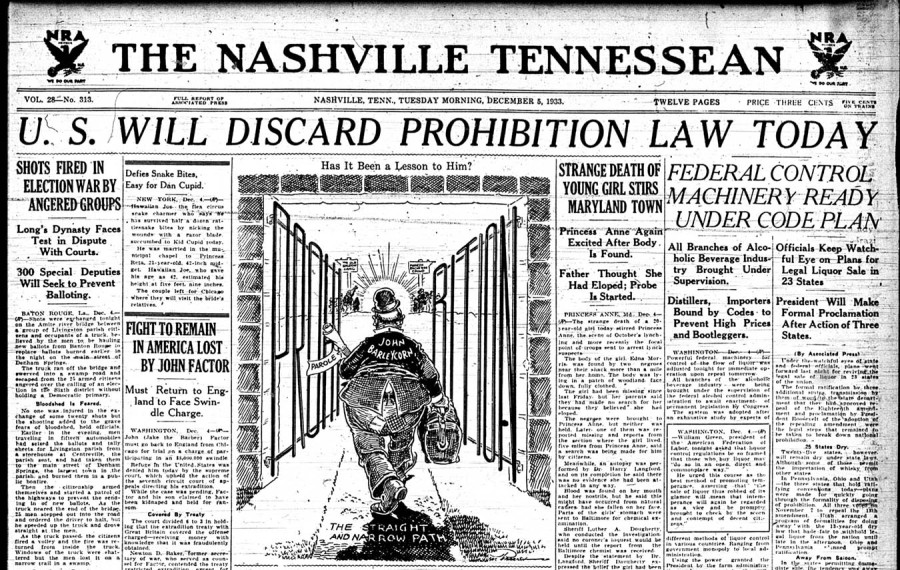 US Prohibition Repeal