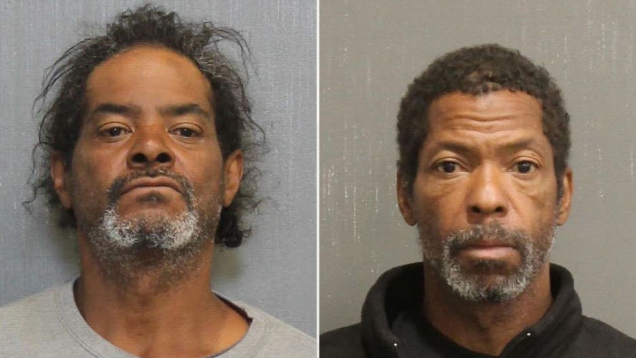 Two men arrested for stealing from building damaged in Christmas blast