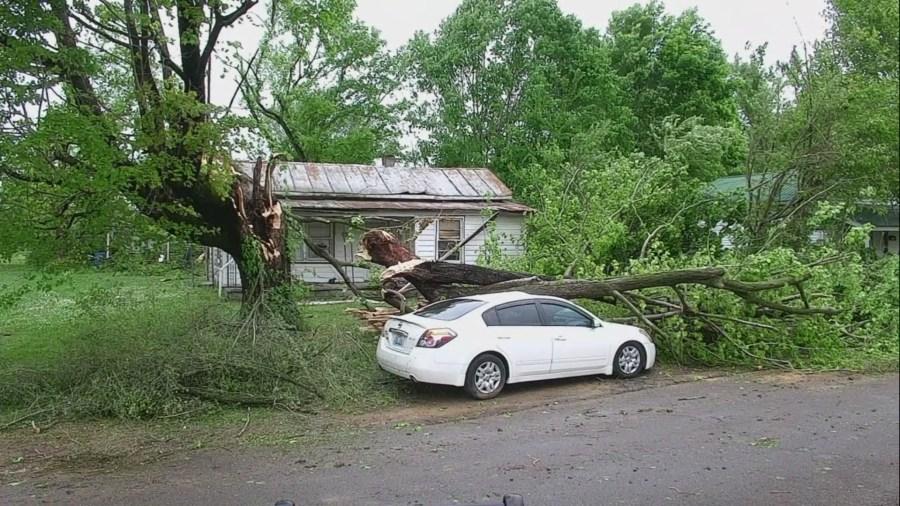 Thompkinsville damage