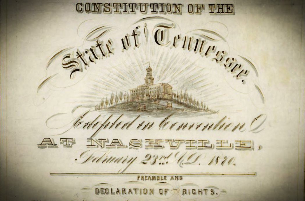 Tennessee 1870 Constitution