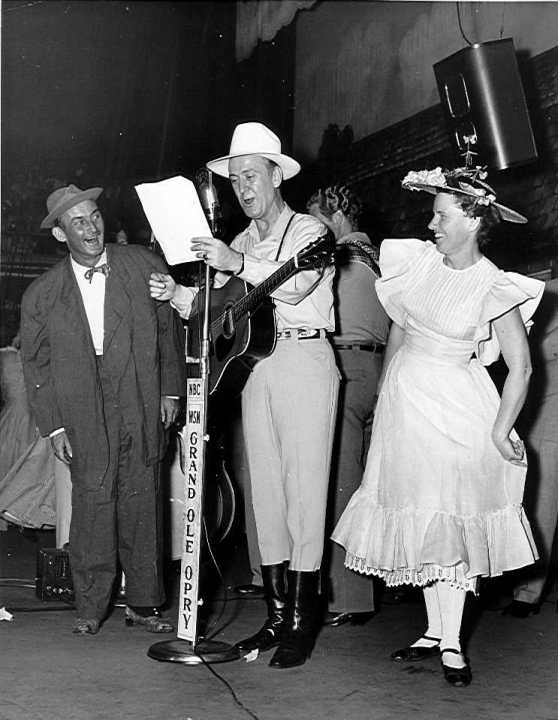 Minnie Pearl, Red Foley and Rod Brasfield