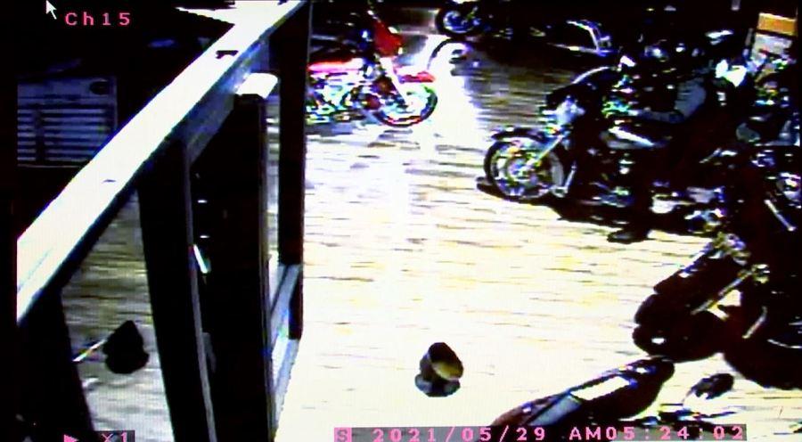 Clarksville Harley Davidson theft