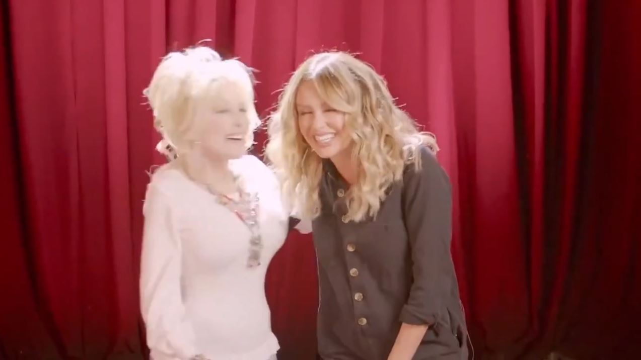 Dolly and Carly Pearce