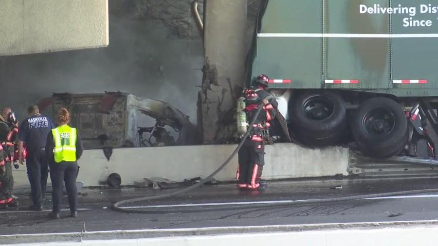 I-40 Mt. Juliet Road crash