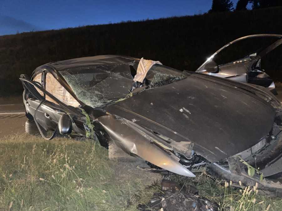 car falls from 40 to 65