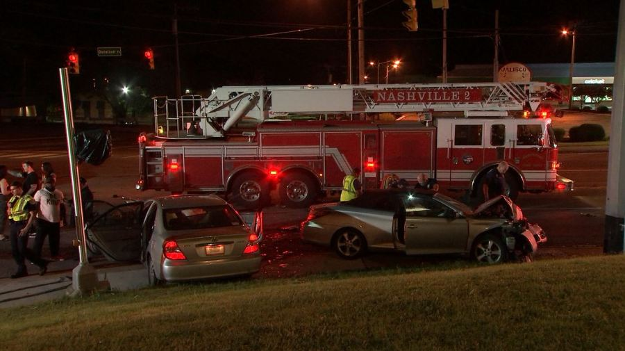 Donelson Pike hit and run