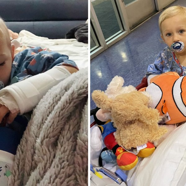 2-year-old Franklin boy recovering after lawnmower accident