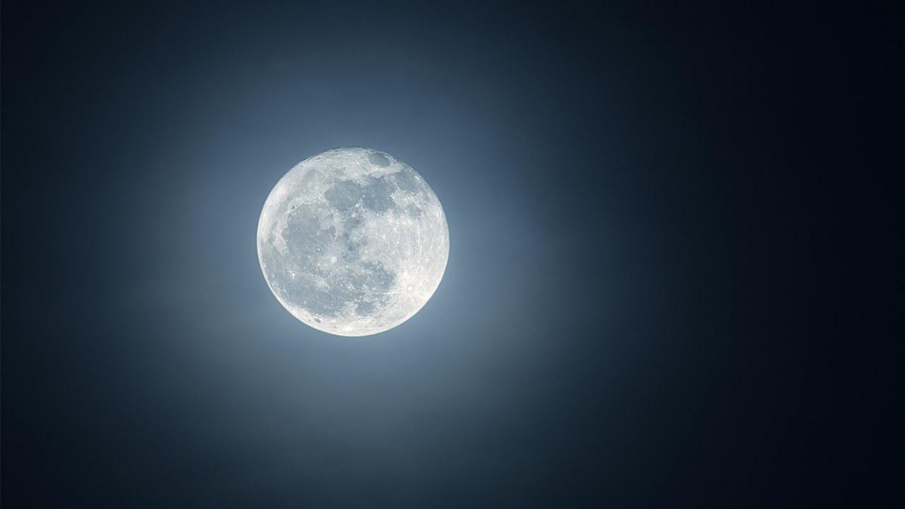 Clear night sky
