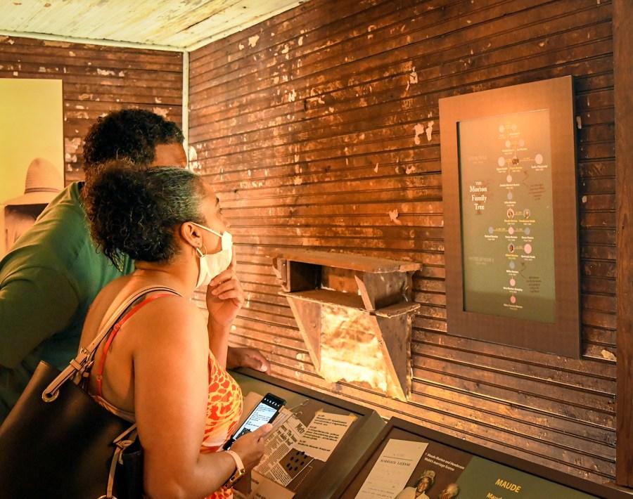 Nashville Zoo Morton Cabin