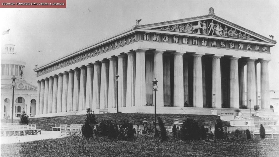 Nashville Parthenon 1897