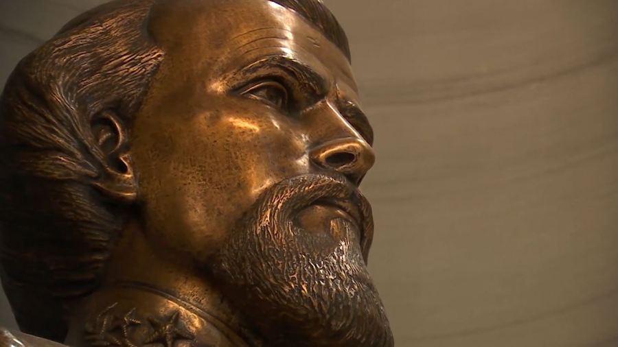 Nathan Bedford Forrest bust