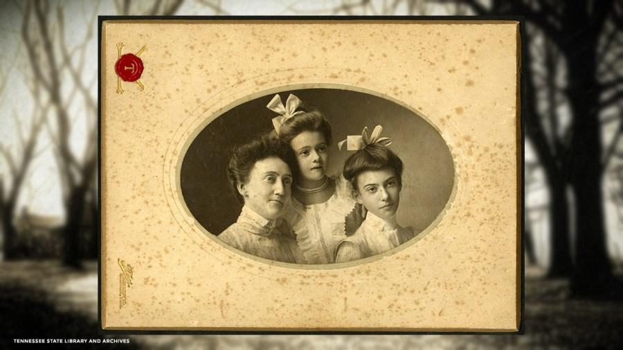 Portrait of Kate, Margaret, and Elise Croft
