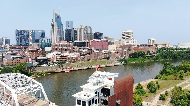 downtown Nashville skyline generic