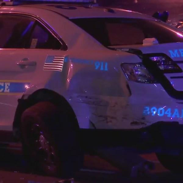 Buchanan Street officer crash