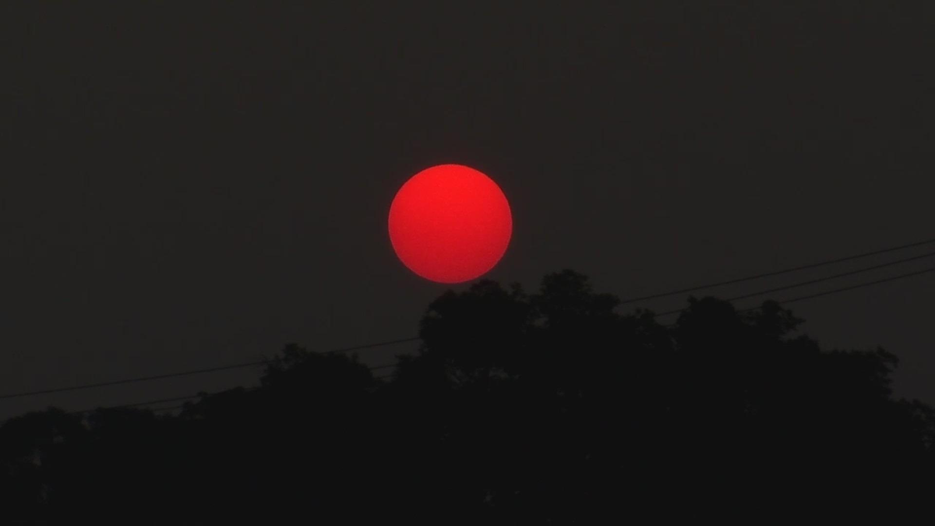 Red sunrise Nashville